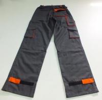 костюм ITP серый саржа брюки сзади